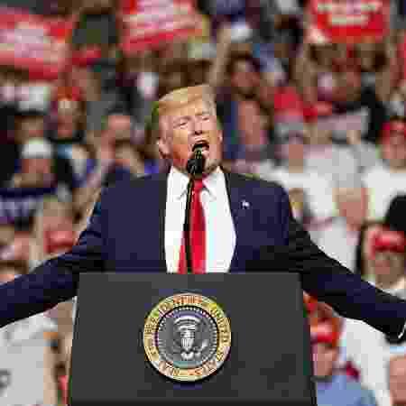 """""""A democracia e a vontade do povo sempre prevalecerão"""", enfatizou o presidente dos EUA - Carlo Allegri/Reuters"""
