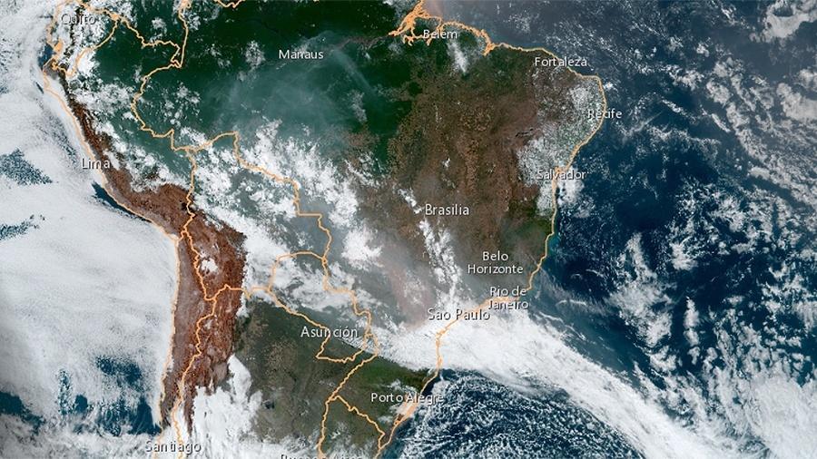 Resultado de imagem para incendio na amazonia 2019