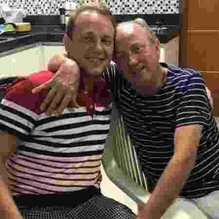 João Anderson Demski e o pai Jair José Demski morreram em acidente de avião em Mato Grosso - Divulgação/Prefeitura de Guarantã do Norte