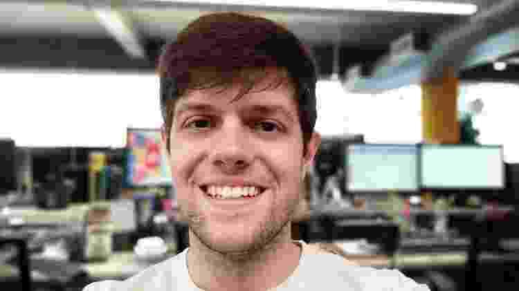 Selfie com modo retrato tirada com o Zenfone Max Pro M2 teve bom resultado - Rodrigo Trindade/UOL