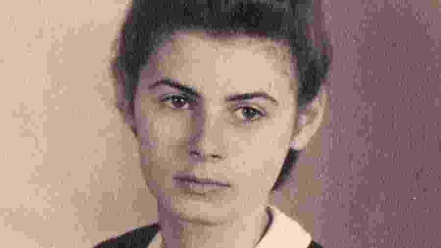 """Ursula Michel em 1939, antes de ser levada pelo """"Kindertransport"""" para o Reino Unido - Judith Rhodes via BBC"""