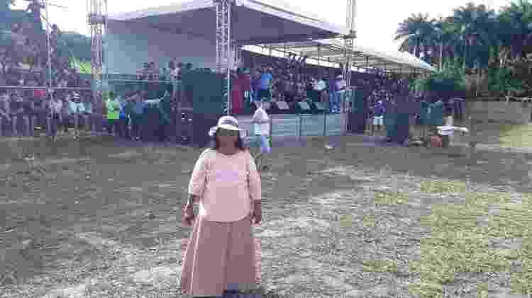 Luzia Maria é a idealizadora do teatro em Tejucupapo - Grupo Cultural Heroínas de Tejucupapo/Divulgação