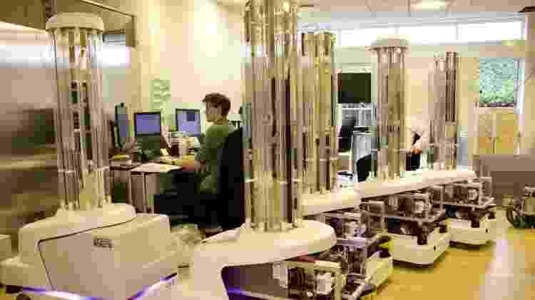 A poderosa luz UV já é um meio comprovado de matar micróbios - BBC - BBC