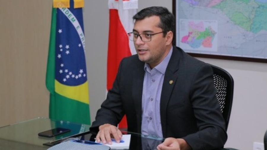 Wilson Lima, governador do Amazonas - Maurilio Rodrigues/Secom