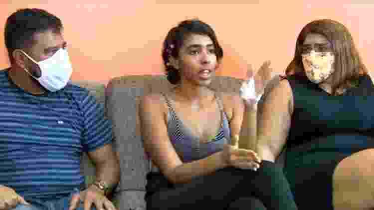 A universitária Dayse Brilhante diz ter sido agredida por motivação racista - Reprodução/Rede Amazônica - Reprodução/Rede Amazônica