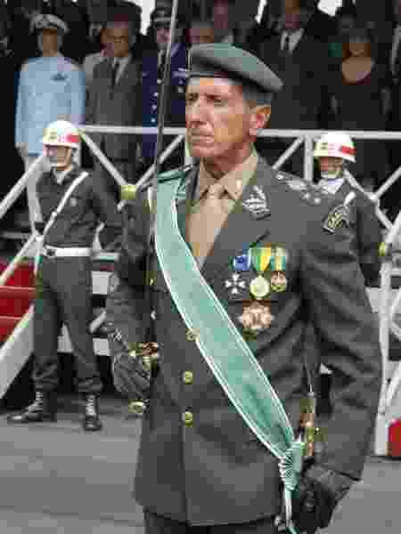 Foto de arquivo do general Esper em cerimônia na Assembleia Legislativa de São Paulo, em 2007 - Divulgação/Alesp