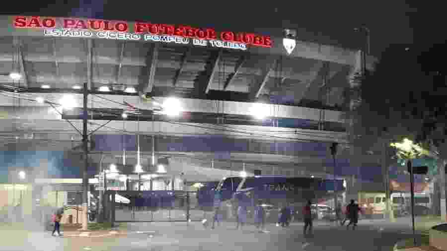 Estádio do Morumbi, casa do São Paulo - MTST