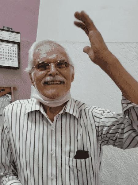 O alfaiate Odiney Pedroso, 89 - Reprodução/Instagram