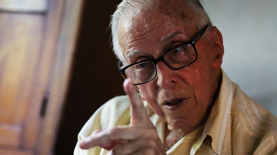 Dom Pedro Casaldáliga, bispo católico radicado no Brasil desde 1968  - Jorge Araujo/Folhapress
