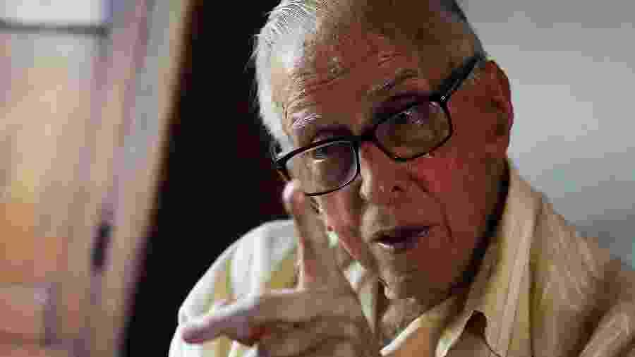 Dom Pedro Casaldáliga, nascido Pere Casaldàliga i Pla é um bispo católico radicado no Brasil desde 1968. Atualmente, é bispo emérito da Prelazia de São Félix do Araguaia -  Jorge araujo/Folhapress