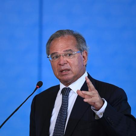 O ministro da Economia, Paulo Guedes - Arquivo - Mateus Bonomi/AGIF/Estadão Conteúdo