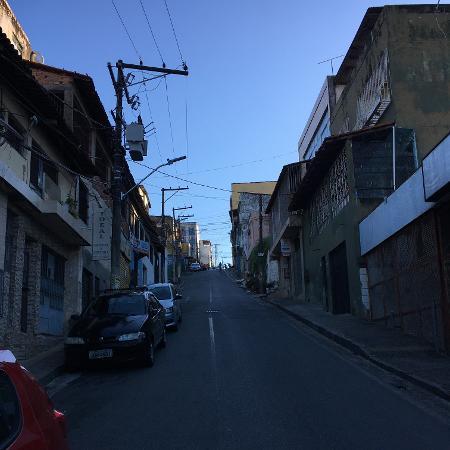 Local onde Niljalma Paixão de Freitas foi assassinado em Salvador - Alexandre Santos/UOL