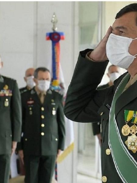 O comandante Paulo Sérgio: discurso dúbio -