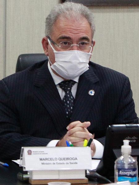 Ministro da Saúde, Marcelo Queiroga - Ailton de Freitas/Ministério da Saúde