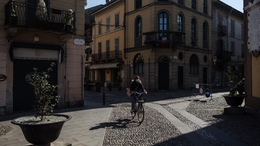 Situada na Lombardia, Codogno tem 16 mil habitantes - Emanuele Cremaschi/Getty Images