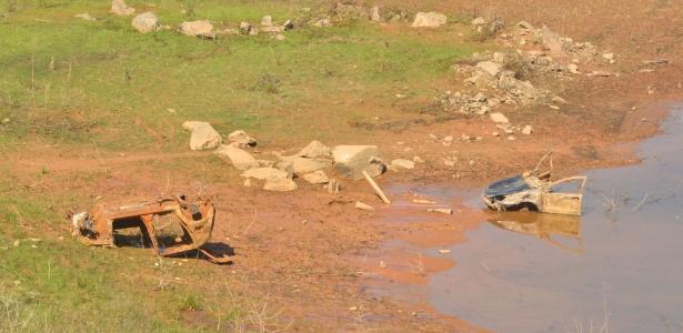 Continua a queda nos reservatórios - Nilton Cardin/Estadão Conteúdo
