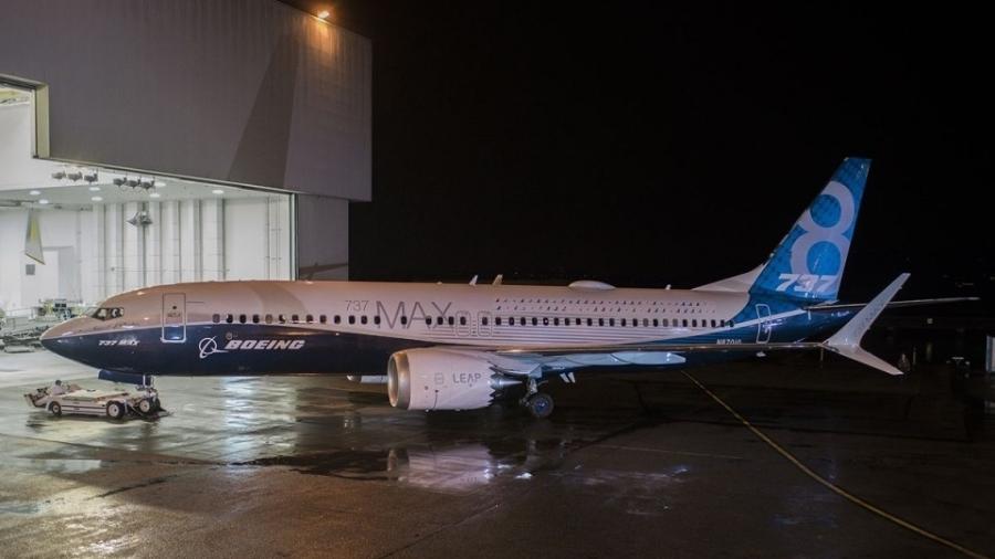 Boeing 737 MAX 8 - Divulgação