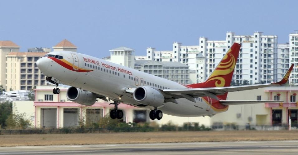 Avião da Hainan Airlines