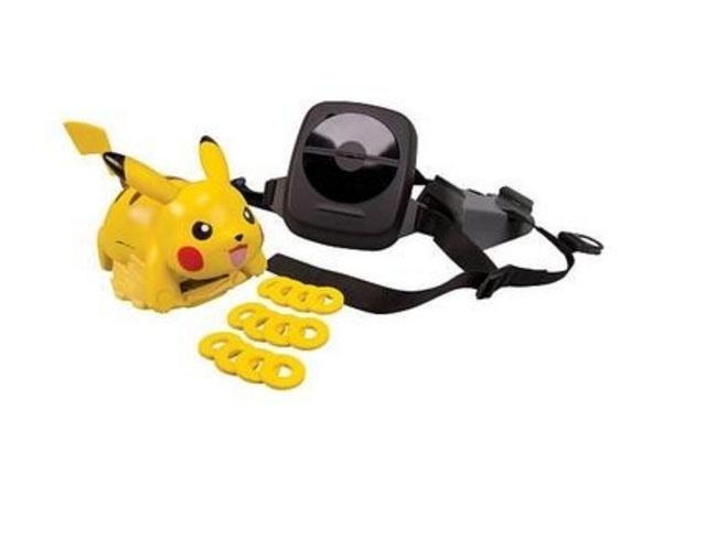 O disco de batalhas com Pikachu é vendido por R$ 399,89 no site do Walmart