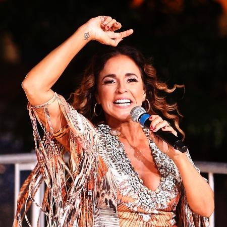 Daniela Mercury   - Leonardo Benassatto/FramePhoto/Estadão Conteúdo