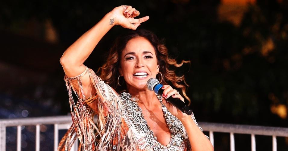 Daniela Mercury anima a virada de quem está na Avenida Paulista para a Festa de Réveillon