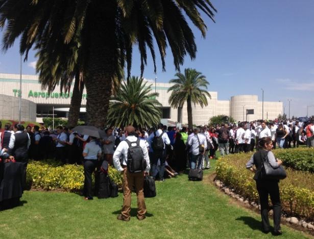 Aeroporto da Cidade do México foi evacuado após o terremoto de 7,1 graus do dia 19
