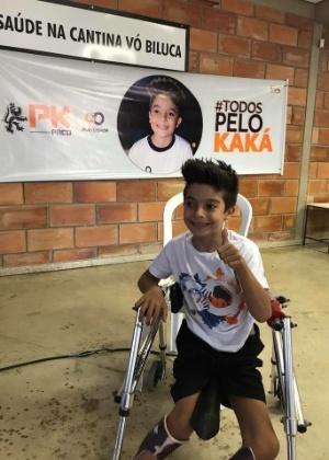 4dd21a820f Menino arrecada R  280 mil em campanha para fazer cirurgia nos EUA e ...
