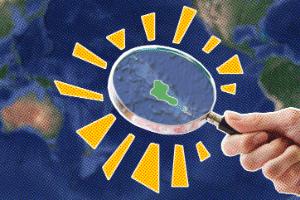 #LigadoNoMundo - A luta dos menores países do mundo pela sobrevivência (Foto: Arte/UOL)