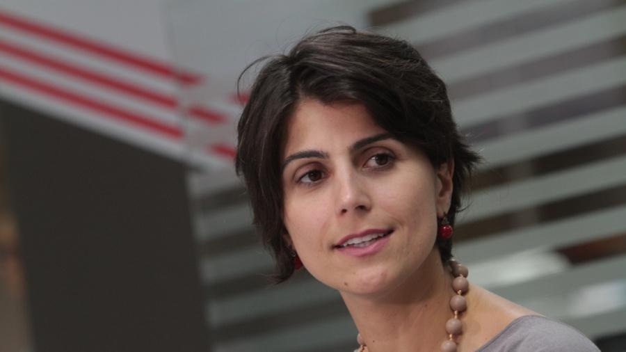 """A vice de Fernando Haddad (PT), Manuela D""""Ávila - FILIPE JORDãO/JC IMAGEM/ESTADÃO CONTEÚDO"""
