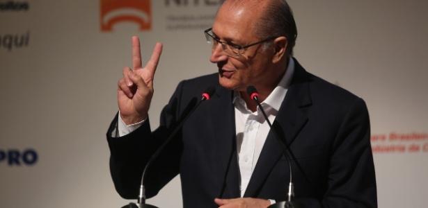 O pré-candidato à Presidência da República pelo PSDB, Geraldo Alckmin