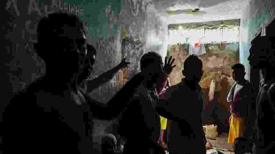 Penitenciária de Monte Cristo, em Roraima, que, segundo autoridades, é dominada pelo PCC - Thiago Dezan FARPA CIDH