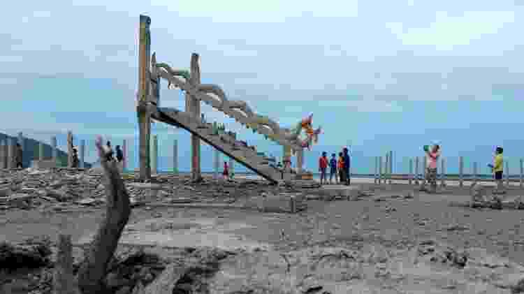 O departamento de meteorologia diz que a Tailândia está enfrentando sua pior seca em uma década - Soe Zeya Tun/Reuters