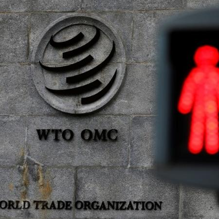 Sede da OMC em Genebra, na Suíça - DENIS BALIBOUSE