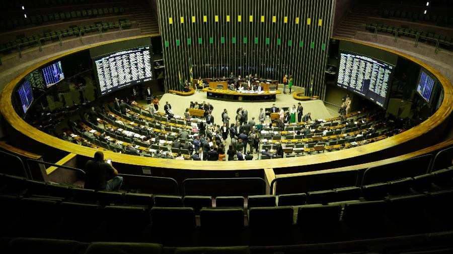 Sessão no Congresso - DIDA SAMPAIO/ESTADÃO CONTEÚDO