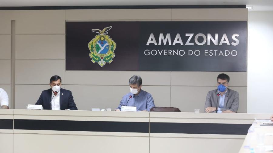 O ministro da Saúde, Nelson Teich, visita o estado do Amazonas - Erasmo Salomão/Ministério da Saúde