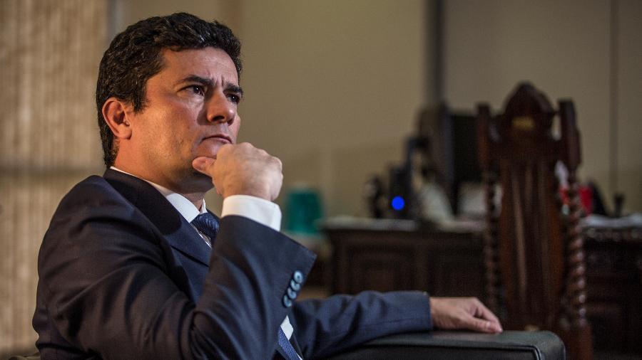 """Ex-ministro da Justiça, Sergio Moro disse que o governo Bolsonaro o usava como """"desculpa"""" - Andre Coelho/Getty Images"""