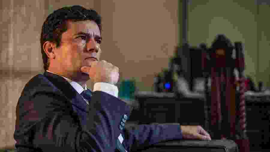 O ex-juiz Sérgio Moro: entre o ódio da esquerda e o fel dos bolsonarismo raiz - Andre Coelho/Getty Images