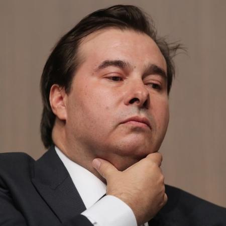 O presidente da Câmara, Rodrigo Maia - AMANDA PEROBELLI