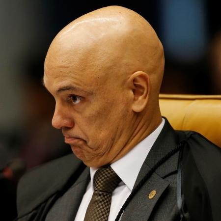 Ministro Alexandre de Moraes durante sessão do STF -