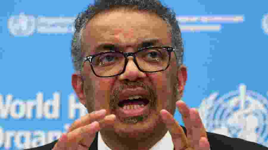 Tedros Adhanom insistiu na necessidade de adoção das medidas já conhecidas para controlar os contágios - Reuters/Denis Balibouse