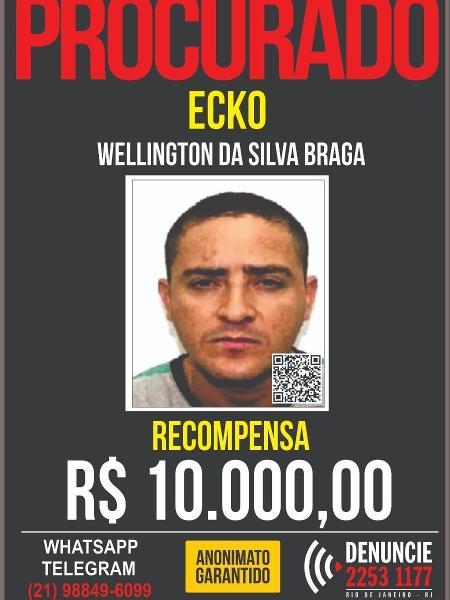 Wellington da Silva Braga, o Ecko - Reprodução