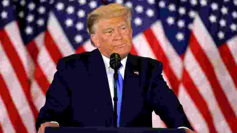 Presidente americano segue afirmando que saiu vencedor no pleito presidencial - CARLOS BARRIA/REUTERS