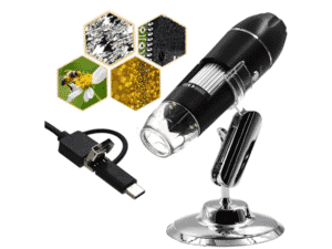 Microscópio Digital Zoom 1600x 3 em 1 2.0 Mp USB - Divulgação - Divulgação