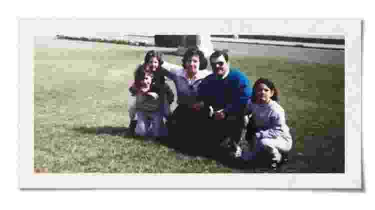 Analía diz que teve uma infância feliz, numa família de classe média muito unida - BBC - BBC