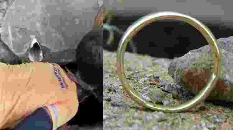 anel - Reprodução/Globoplay Bom Dia Rio - Reprodução/Globoplay Bom Dia Rio