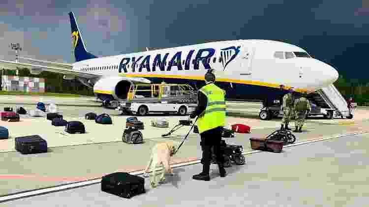 Voo da Ryanair - AFP PHOTO/ONLINER.BY - AFP PHOTO/ONLINER.BY