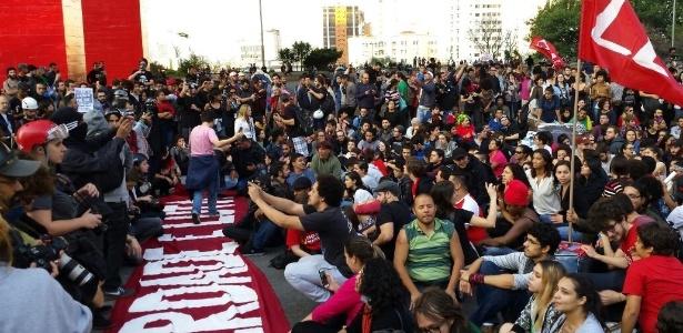 'Grito dos Excluídos' é marcado por protestos contra o governo Michel Temer - Flávio Costa/UOL