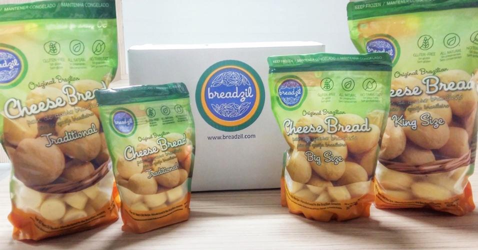 A companhia Maryne, do Pará, exporta pão de queijo congelado para os Estados Unidos