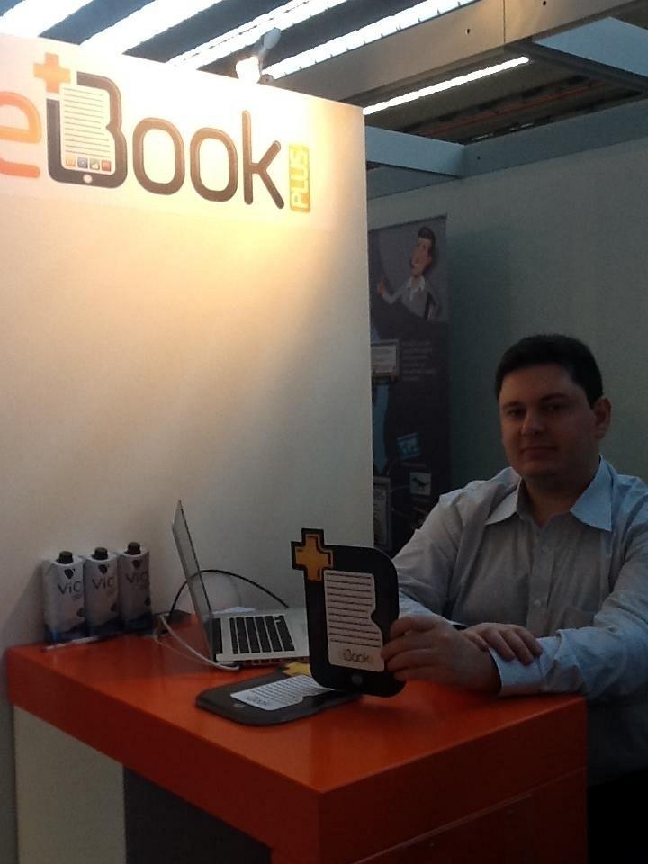 Marco Giroto teve uma empresa de livros eletrônicos nos EUA que não deu certo