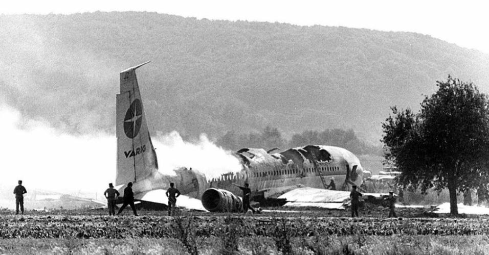 Acidente com Boeing 707 na França